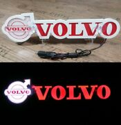 3d 24v Led Light Neon Plate For Volvo Fh3 Fh4 Fh16 Truck Red Sign Decoration