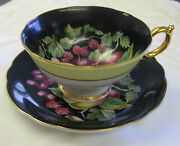 Royal Sealy China Cup And Saucer C. 1950-early 1960's