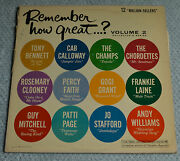 Remember How Great.. Volume 2 / Various Artists / 1962 Columbia Records 12lp