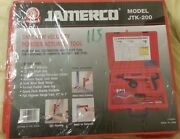 Jamerco Jtk-200 Safe Low Velocity Power Actuated Tool New