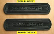 Henderson Motorcycle 1915-1917 Footboard Real Rubber Mat Set - Antique Repro