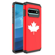 For Samsung Galaxy Shockproof Protective Hard Case Cover Maple Leaf Canada