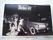 1948 Tucker At Auto Show With Car Show Girls 11 X 17 Photo Picture