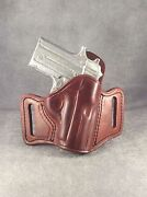 Sig Sauer P238 Owb Pancake Leather Holster By Etw Holsters....hickory, Nc