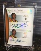 2007-08 Insert /50 Kevin Durant/green Rookie Auto Sp Authentic Sign Of The Times