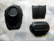 Harley Cam Cover- Top/side Transmission Cover-2017-2020 Milwaukee Eight-denim