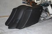 6 Down 9 Back Stretched Extended Bags And Fender For Touring Bikes 97-2008