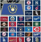 Mlb 5and039 X 8and039 Ulti-mat Area Rug Floor Mat Yankees Boston Mets Aand039s Phillies Braves