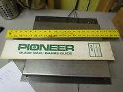 New Old Stock Pioneer Chainsaw Bar 474810 Nsw 16 058 3/8 3662 198z
