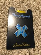 Pinny Arcade Pax West Prime 2016 Limited Edition Blue Cross Poly Pin