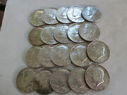 1969-d Kennedy Half Dollars 40 Silver Full Roll No Junk All Better Grades