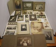 Vintage Photo Lot 1800and039s And On Must See Awesome Men Women Families Ancestry