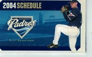 2004 San Diego Padres Schedule First Year At Petco Park - Trevor Hoffman
