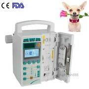 Fda Veterinary Infusion Pump Iv And Fluid Machine With Voice And Visual Alarm Vet