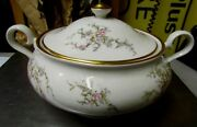 Perfect Beautiful Kirk Hathaway Pattern Lidded Bowl With 5-1/2h X 9 W