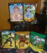 Lot/set New Boxes 5 Wizard Of Oz Barbie/ken Dolls Hollywood Legends 1994 And03995 And03996