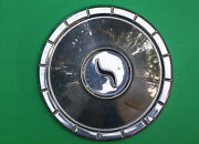 Used Studebaker 10 Small Hubcap Black S In Center Dog Dish Poverty Wheel Cover