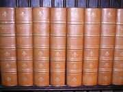 1883 26 Vol The Works Of William Makepeace Thackeray Fine Leather Illustrated