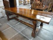 Oak Table For Christmas In Solid English Oak