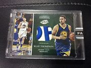2016 Panini Eternal Klay Thompson Game Used Nba Finals Logo Letter Patch 2/5