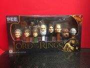 2011 Pez Candy Limited Edition Collectors Series Lord Of The Rings Set Disp Nos