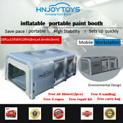 New Inflatable Spray Booth Custom Tent Car Paint Booth Inflatable Car Grey