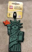 Lego Statue Of Liberty Luggage Tag Very Rare