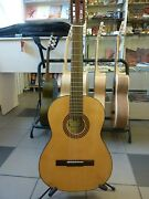 Hora 7 String Acoustic Guitar With Eq With Tuner Solid Wood Russian Brazilian