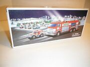 Collectible 2005 Hess Oil Company Emergency Truck W/rescue Vehicle New In Box