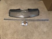 2pc Dual Weave Mesh Grille Grill Eandg Fits 2003 2004 2005 2006 2007 Cadillac Cts