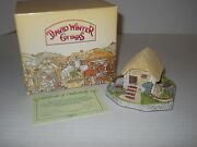 David Winter Cottages 1991 Irish Water Mill Special For 1992 Collector's Guild