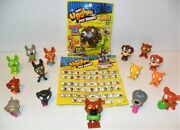 The Ugglys Pet Shop Series 1 Mixed Lot Of 15 Just As Pictured Loose From Moose A