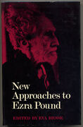Eva Hesse / New Approaches To Ezra Pound Coordinated Investigation 1st Ed 1969