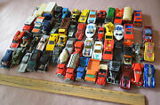 Lot Of Hot Wheels And Matchbox 56 Used All From 1970's Cars Loose