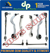 Front Control Arms Ball Joint Joints Tie Rod Rods Bmw E65 E66 Suspension Kit 8