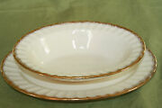 The Edwin M. Knowles China Co. Usa Kno948 Pattern Vegetable Bowl And Platter