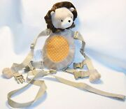 Carter's Child Of Mine 2 In 1 Harness Buddy Pal Lion Backpack Child Leash Plush