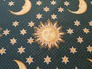 Brunschwig And Fils Sun Moon And Stars Winterthur Museum Historical Print Fabric 6yd
