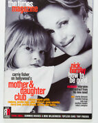 Melanie Griffith Carrie Fisher Gillian Anderson Priscilla Presley Times Magazine