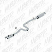Mbrp 3 Catback Exhaust - Dual Outlet / T304 - 14-15 Ford Fiesta 1.6l Ecoboost