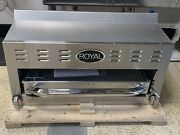 Brand New, Still On Pallet, Royal Rsb-36lp Salamander/broiler With Wall Mount