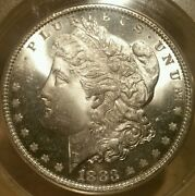 1883 P Morgan Dollar Graded Ms 65 By Anacsvery Nice For The Grade
