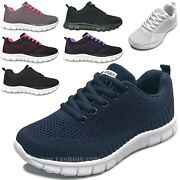 New Womenand039s Mesh Sneaker Casual Athletic Sport Light Tennis Shoes Size 5 To 10