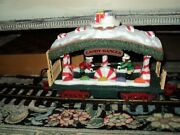 New Bright 387 Holiday Express Animated Train Candy Dancer Only Piece