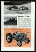 1953 Ford Tractor Naa Golden Jubilee Introductry Pictorial
