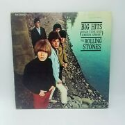 Rolling Stones Rare Mono Lp First Press Big Hits High Tide And Green Grass Np1