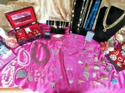 Large Lot Of Antique Vintage 80 Costume Jewelry Many Signed