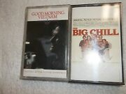 Good Morning Vietnam And The Big Chill Two Different Cassette Tape Music Lot