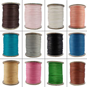 Jewelry Making Cord Waxed Cotton String 1.5 Mm 1 Roll Beading Diy Craft Projects