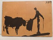 Collectible And Rare Painting Crakele 1959 43 X 30 Cm